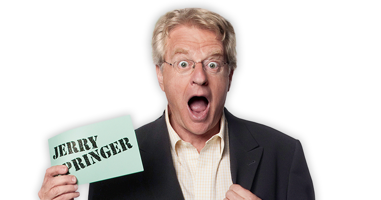 Image result for jerry springer