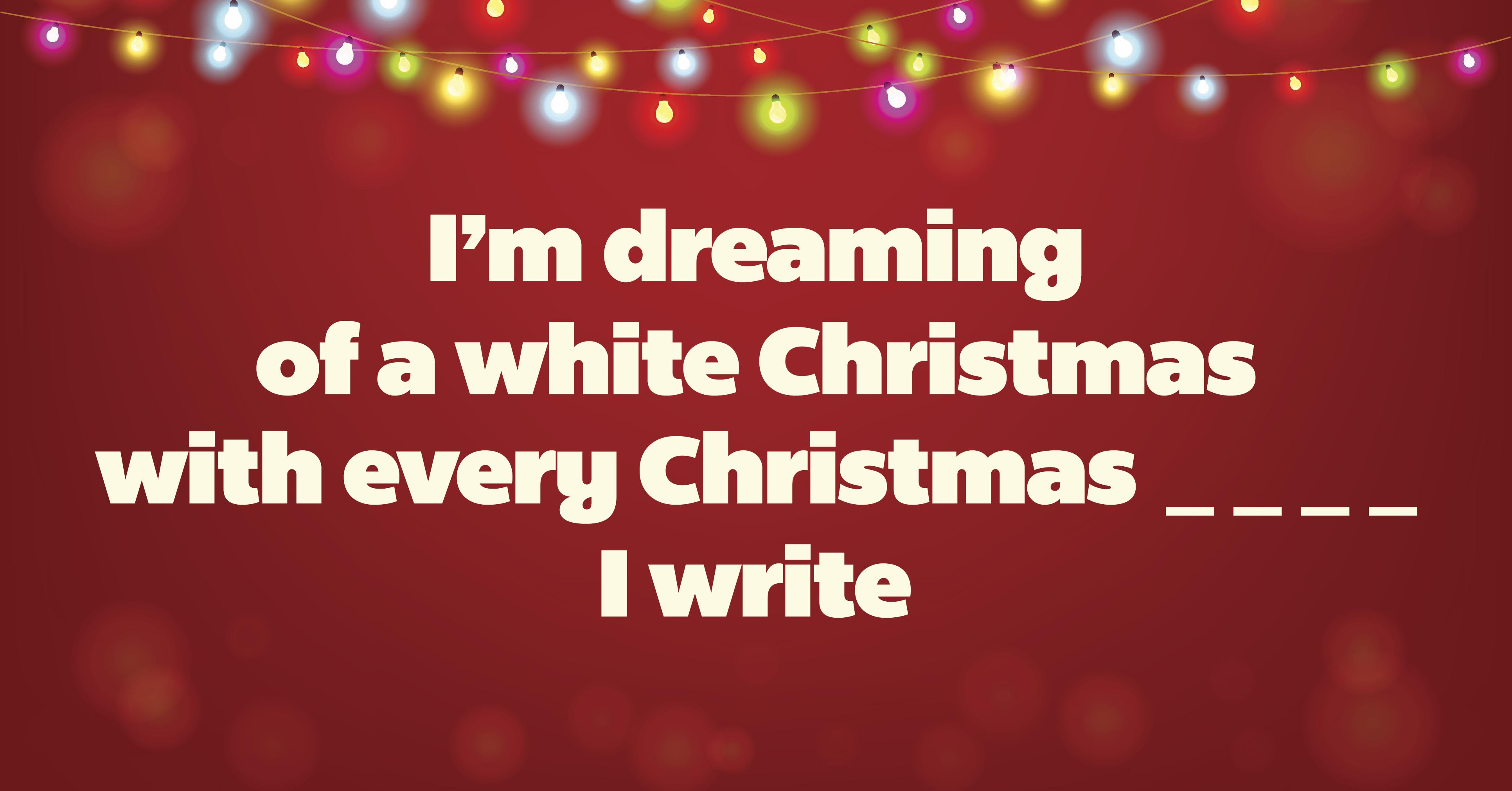 white christmas - I Ll Have A Blue Christmas Lyrics